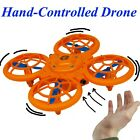 Sensor Hand-Controlled Drone UFO Toss N Fly Kids Toys Gifts Side & Up US Seller