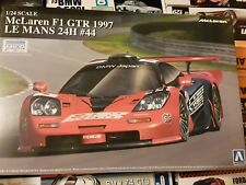 Aoshima 1/24 McLaren F1 GTR 1997 LeMans 24hours #44  Model Car Kit