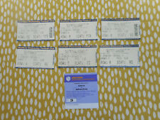 FOOTBALL TICKETS SHEFFIELD WEDNESDAY 2001 -2-3 DIVISIONS 0NE AND TWO
