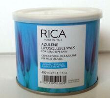 Depilation Rica Wax Azulene 400 ml for sensitive skin