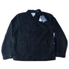 Mens Levis Made And Crafted Type 2 Big E Trucker Jacket Size Xl Black