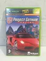 PROJECT GOTHAM RACING 2 - MICROSOFT XBOX ORIGINAL GAME COMPLETE
