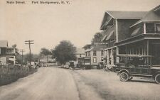 Fort Clinton Inn Passenger Car Main Street Scene Montgomery NY Orange County
