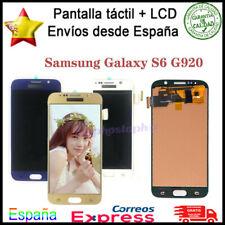 Pantalla Para Samsung Galaxy S6 SM-G920F G920 LCD Táctil Digitalizador Display