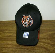 Brand New Men's NFL Cincinnati Bengals Embroidered Black Flexfit Cap Hat OSFM