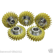 5 X Kitchenaid Mixer Genuine Spare Part Worm Drive Gear Repair W10112253