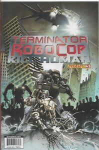 TERMINATOR ROBOCOP - KILL HUMAN #3 B - Back Issue (S)