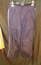 Vtg Ae American Eagle Outfitters Performance All Weather Ski Pants Black sz S