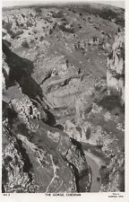 Somerset Postcard - The Gorge - Cheddar - Real Photograph - Ref DR639