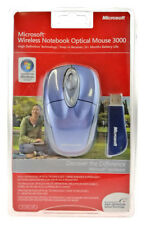 Microsoft wireless NOTEBOOK OPTICAL MOUSE 3000/mouse senza fili-Nuovo-OVP-USB