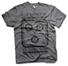 Officially Licensed Back To The Future- Flux Capacitor Men'S T-Shirt S-Xxl Sizes