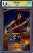 CGC SS 9.8 Wonder Woman #26 Foil Variant Photo Cover signed Gal Gadot