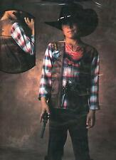 ABITO, COSTUME DI CARNEVALE ILLUSION, COWBOY, FAR WEST, BILLY THE KID (TG.1)