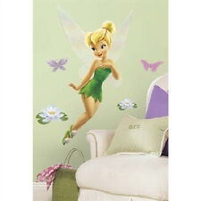 "TINKERBELL wall stickers MURAL Disney fairy room decor 30"" decal Tinker Bell"