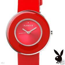 Brand New Red PLAYBOY Women's Watch w/Genuine Crystal - UNIQUE!  $350 ___ PBH45
