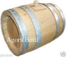 Botte barilotto 30 lt di rovere per aceto balsamico
