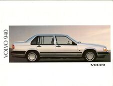 Volvo 940 Saloon & Estate 1991-92 UK Market Brochure S GL SE GLE Turbo Diesel