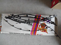 Vintage 1970s HO Scale Aurora AFX Snap On Guard Rails with Box LOOK