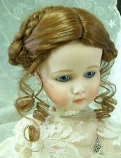"PLAYHOUSE Doll Wig ""GINA"" Size 8-9 - AUBURN  -  Alpine Braids & Tendrils"