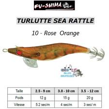 Turlutte Jig Lure FU-SHIMA SEA RATTLE Rose/Orange Calamar Seiche Squid