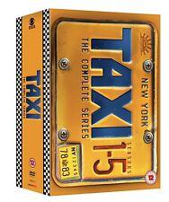 Taxi - The Complete Series [17 DVDs] BOX NEU Season 1-5 DVD 1+2+3+4+5 Serie