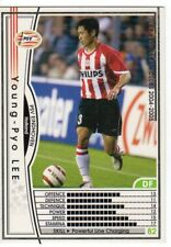 figurina CARD WCCF EUROPEAN CLUB 2004/05 PANINI NEW 101 PSV EINDHOVEN LEE