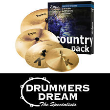 "NEW Zildjian K Country Value Cymbal Pack Includes Free 19"" K Dark Crash Thin!"
