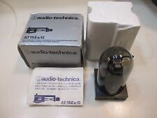 AUDIO TECHNICA AT15EA/G CARTRIDGE AND GENUINE ATN-15EA STYLUS IN HEADSHELL & BOX
