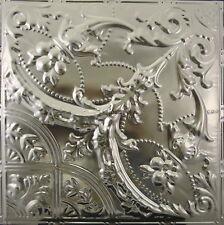 #109-Tin Ceiling Tiles - Unfinished - Nailup, 5 pcs per box