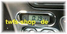 D Fiat Barchetta Chrom Rahmen für Uhr - Edelstahl poliert