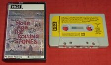 ROLLING STONES - UK CASSETTE TAPE - STONE AGE - PAPER LABELS