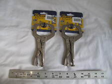 "(2) New Irwin 6"" Vise-Grip Locking C-Clamp 6Sp, 2-1/8"" Capacity"