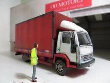 1:76 OXFORD DIECAST Code 3 Trucks FORD CARGO Curtain side truck