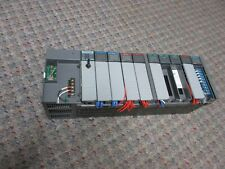 Allen Bradley SLC 5/02 PLC -10-Slot Rack w/Modules