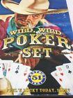 Vintage Bakelite Dice Retro 1951's Wild Wild Poker Set Original Game