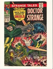 STRANGE TALES #155 STERANKO NICK FURY! Marvel Silver Age!