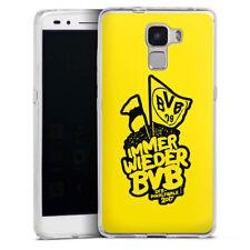 Huawei Honor 7 Silikon Hülle Case Handyhüle - BVB Pokalfinale yellow