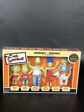 NIB The Simpsons Bendable  Poseable Figures Tree House of Horrors Zombie Edition