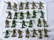 Jouets de bazar - Lot de 25 soldats des années 1980
