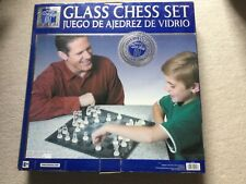 glass chess set limited edition, unused
