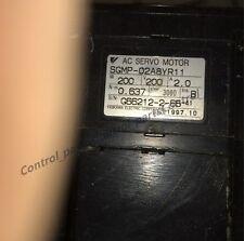 1 PC Used Yaskawa Servo Motor SGMP-02A8YR11 SGMP02A8YR11 Tested