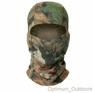 Lightweight Breathable Camouflage Balaclava Airsoft Army Face Head Cover Camo UK