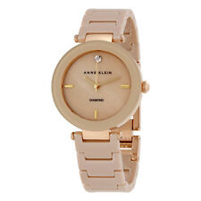 Anne Klein Taupe Mother of Pearl Dial Ladies Watch 1018TNGB