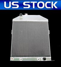1942 43 44 45 46 47 48 Ford/Mercury Coupe Chevy Config 3 Row Core Alum Radiator