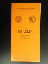 Rare Brochure Tintin Cliniques Universitaires Erasme Bruxelles ULB