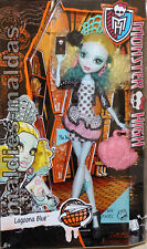 Monster High Lagoona Blue Schul Graustausch CDC37 NEU/OVP Puppe