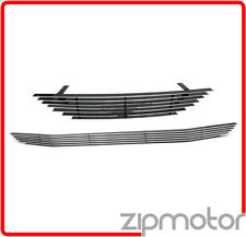 94 95 96 97 98 FORD MUSTANG FRONT UPPER + BUMPER GRILLE INSERT COMBO PONY CUTOUT