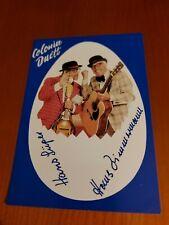 Colonia Duett《Autogrammkarte》 schätzungsweise Ende der 70er