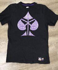 Nike Kobe Spade Print Tee Shirt Short Sleeve Sz Medium Regular Fit