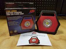 ATD Tools 1300 Lumen LED Battery Powered Flood Light - 80334 - NEW
